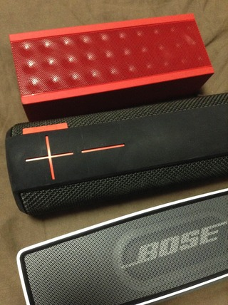 BIG JAMBOXとWS700とBOSE SoundLink Mini Bluetooth speaker