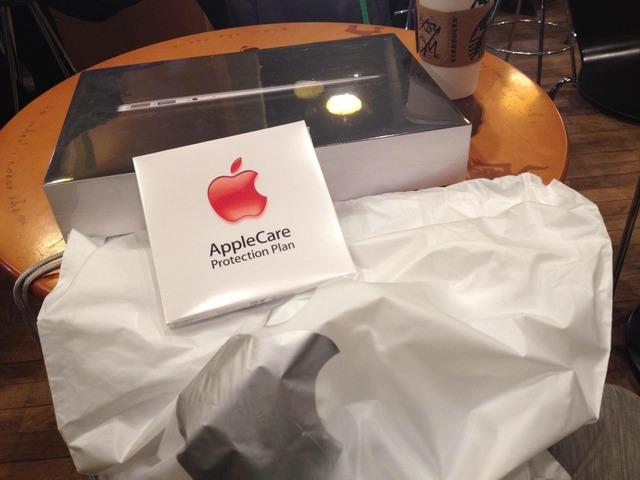 img1-MacBookAirを持ってスタバで開封の儀