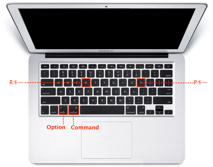 MacBook-Air-PRAM-Reset-Keyboard-Overview