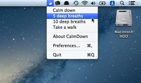 CalmDown breaths