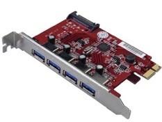 デンノー USB3.0 PCI Express拡張カード Fast U3 Mac MEPI-4PU3M