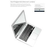 Mac Book タイプ ミラー ホワイト