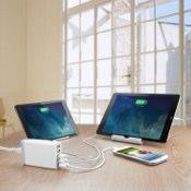 Anker 40W 5ポート USB急速充電器 ACアダプタ PowerIQ搭載 iPhone5C/5S/5/4S/4/iPod/iPad/Xperia/GALAXY/ウォークマン等対応