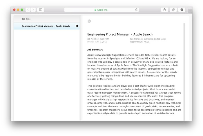 Apple-Search-Manager