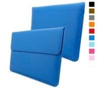 英国Snugg社 Macbook Air & Pro 13 用 ケース - 合成レザー製・生涯補償付き (Apple Macbook Air 13・Macbook Pro 13 with Retina, エレクトリックブルー)
