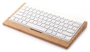 SAMDi(サムディ) Apple Wireless Keyboard 対応 竹製 キーボードスタンド バンブー 【正規輸入品】