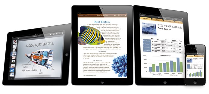 iWork for iOS Hero