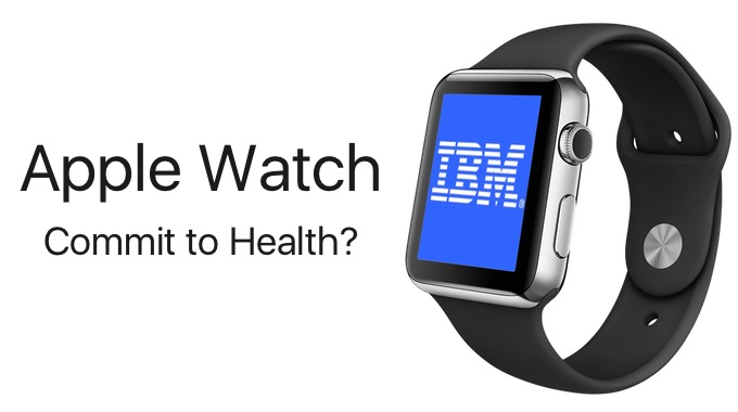 IBM-Plan-Commit-to-Health-with-Apple-Watch