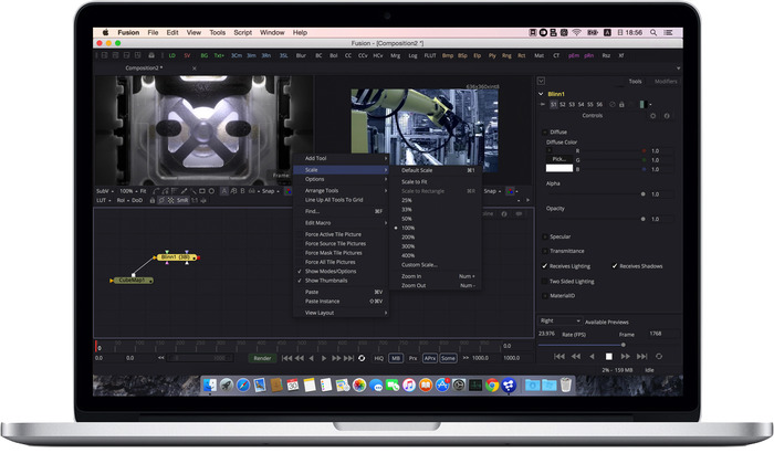 Blackmagic-Design-Fusion8-on-MacBook
