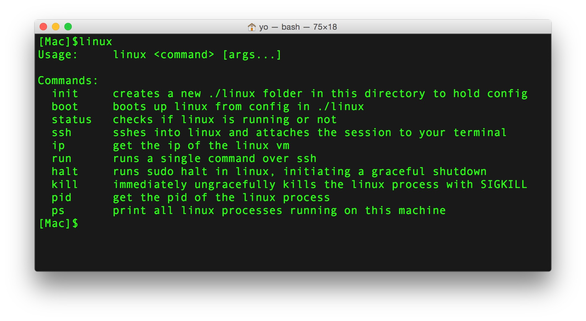 linux-command-on-yosemite