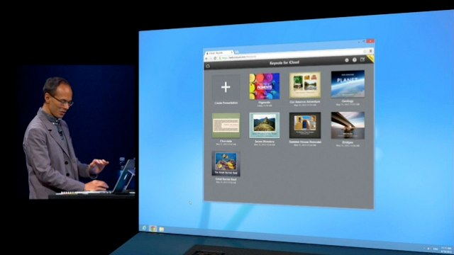 iWork for iCloudはWindowsでも使用可能