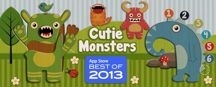 Cutie-Monsters-AppStore2013