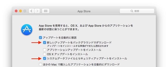 AppStore-softwareupdate-option
