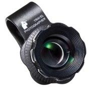 サンワダイレクト iPhone・スマホカメラ望遠レンズキット iPhone5s 対応 2倍望遠 クリップ式:簡単取り付け 400-CAM040