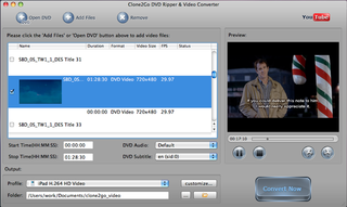 Clone2Go DVD Ripper for Mac