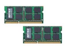BUFFALO Mac用増設メモリ PC3-10600(DDR3-1333) 4GB×2枚組 A3N1333-4GX2/E