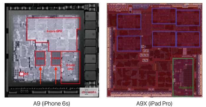 iPhone6s-A9-and-iPad-Pro-A9X-Chipworks