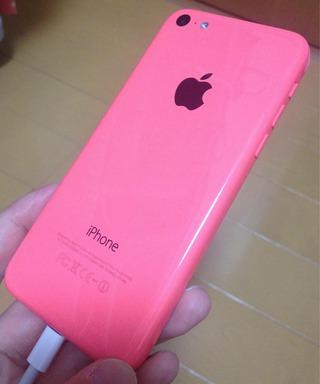 iPhone 5c ピンク