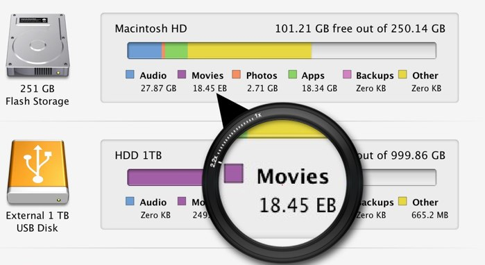 About This Mac Storage EB