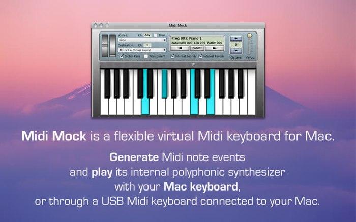 Midi-Mock-Keybord-for-Mac-Hero