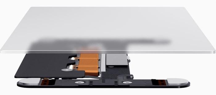 MacBookの感圧タッチトラックパッド-Hero