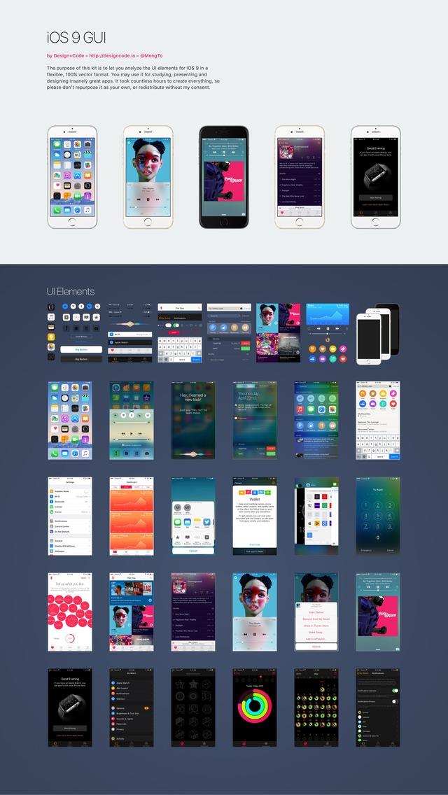 iOS 9 GUI