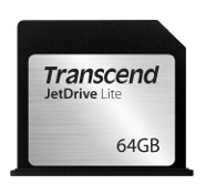 "Transcend Macbook Air専用 SDスロット対応拡張メモリーカード JetDrive Lite 130 64GB for Macbook Air 13"" (Late 2010 - Mid 2013) TS64GJDL130"