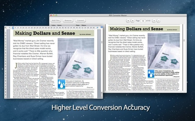 PDF Convert MasterでPDFをWordへ変換