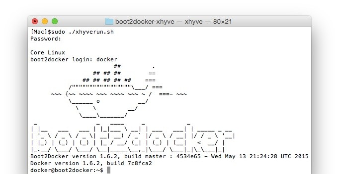 boot2docker-xhyve-run-script