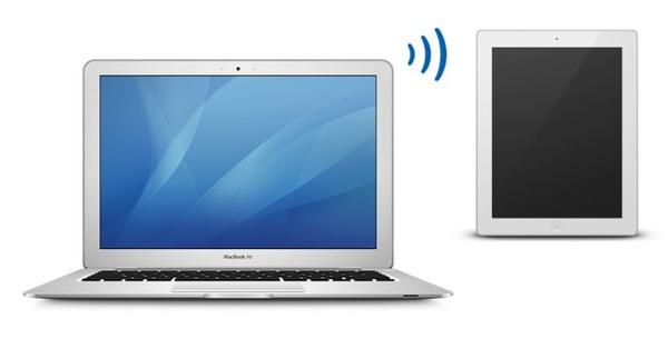 MacBookのキーボードとトラックパッドでiPadを操作