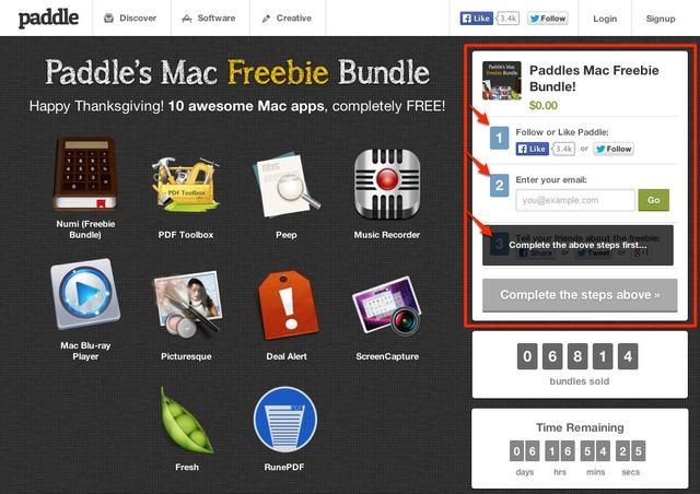 Paddles Mac Freebie Bundle-Hero