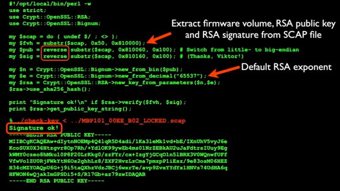 Thunderstrike-Rootkit-RSA-Key