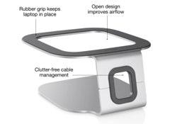【国内正規代理店品】belkin ベルキン MacBook Air/MacBook対応 ラップトップ・スタンド F5L083eb