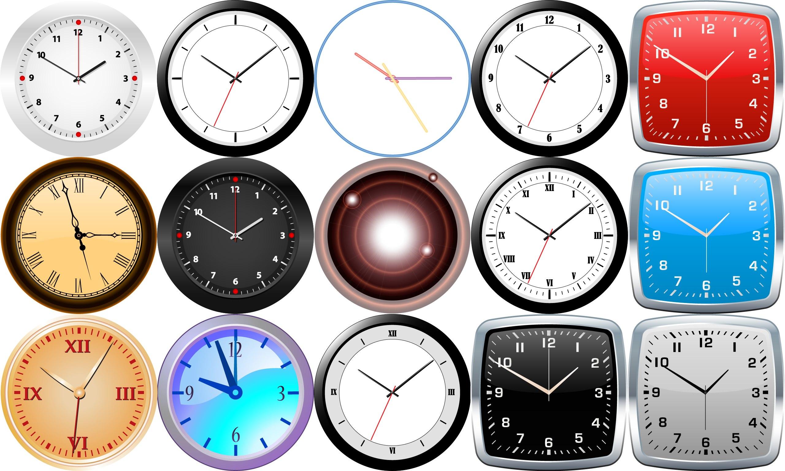 デスクトップ アナログ 時計