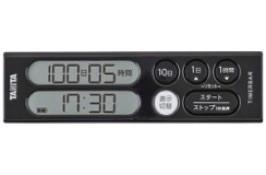 TANITA タイマーバーシリーズ 長期間タイマー 100日計 ブラック TD-402-BK
