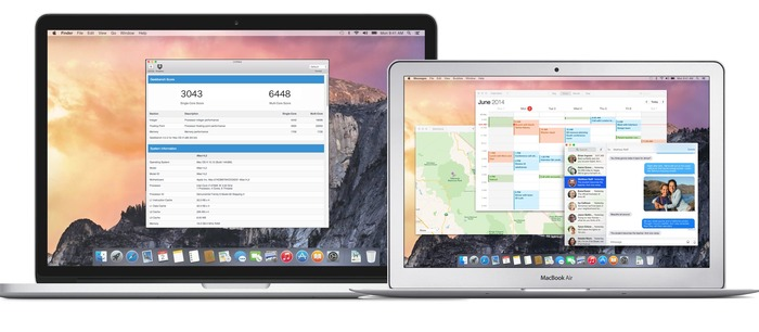 Macbook-Pro-and-Air-Early2015-GeekBenchmark