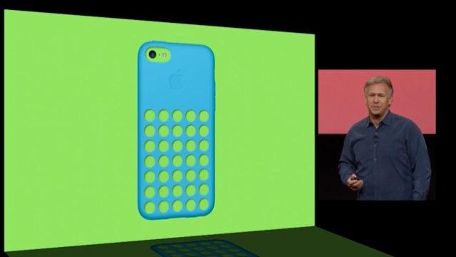 iPhone5c純正ケースkeynote