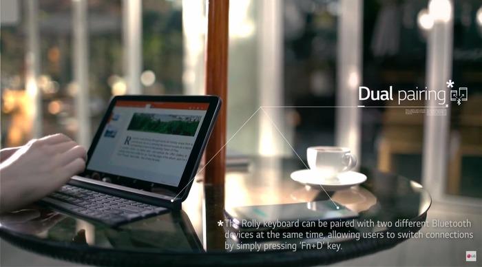 LG-Rolly-Keyboard-Dual-Paring