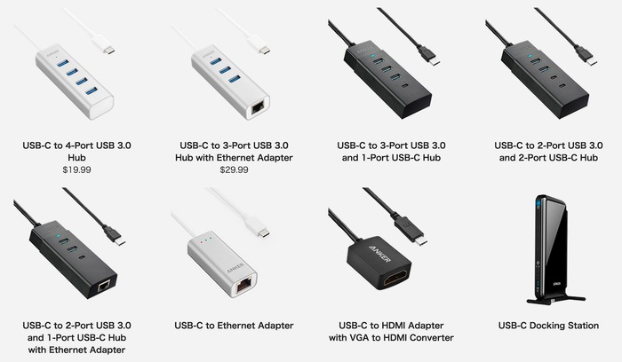 Anker-USB-C-Hubs-and-Adapter