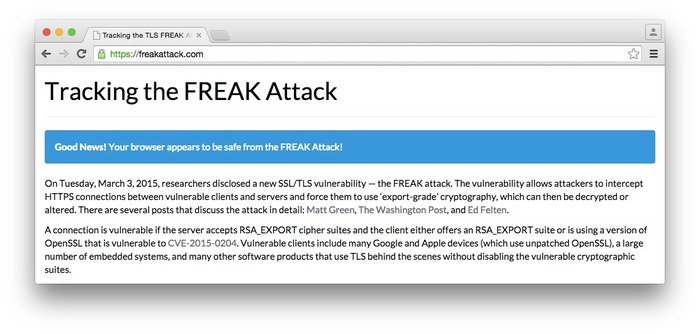 Chrome-Block-FREAK-Attack