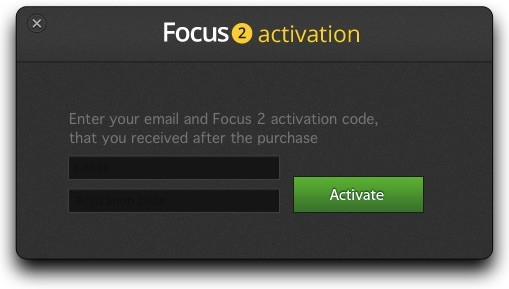Focus2-Activation-Form