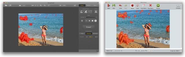 SnaphealとPhoto Eraserの比較