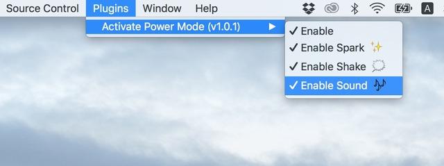 Activate-Power-Mode-Plugin