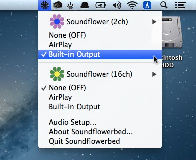Soundflow Built-in Output