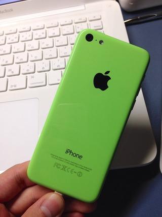 ポリカーボネートMacBookとiPhone 5c グリーン