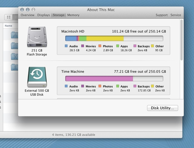 About This Mac Storage2