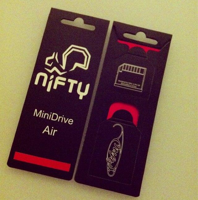 Nifty Mini Drive Mk4のパッケージ