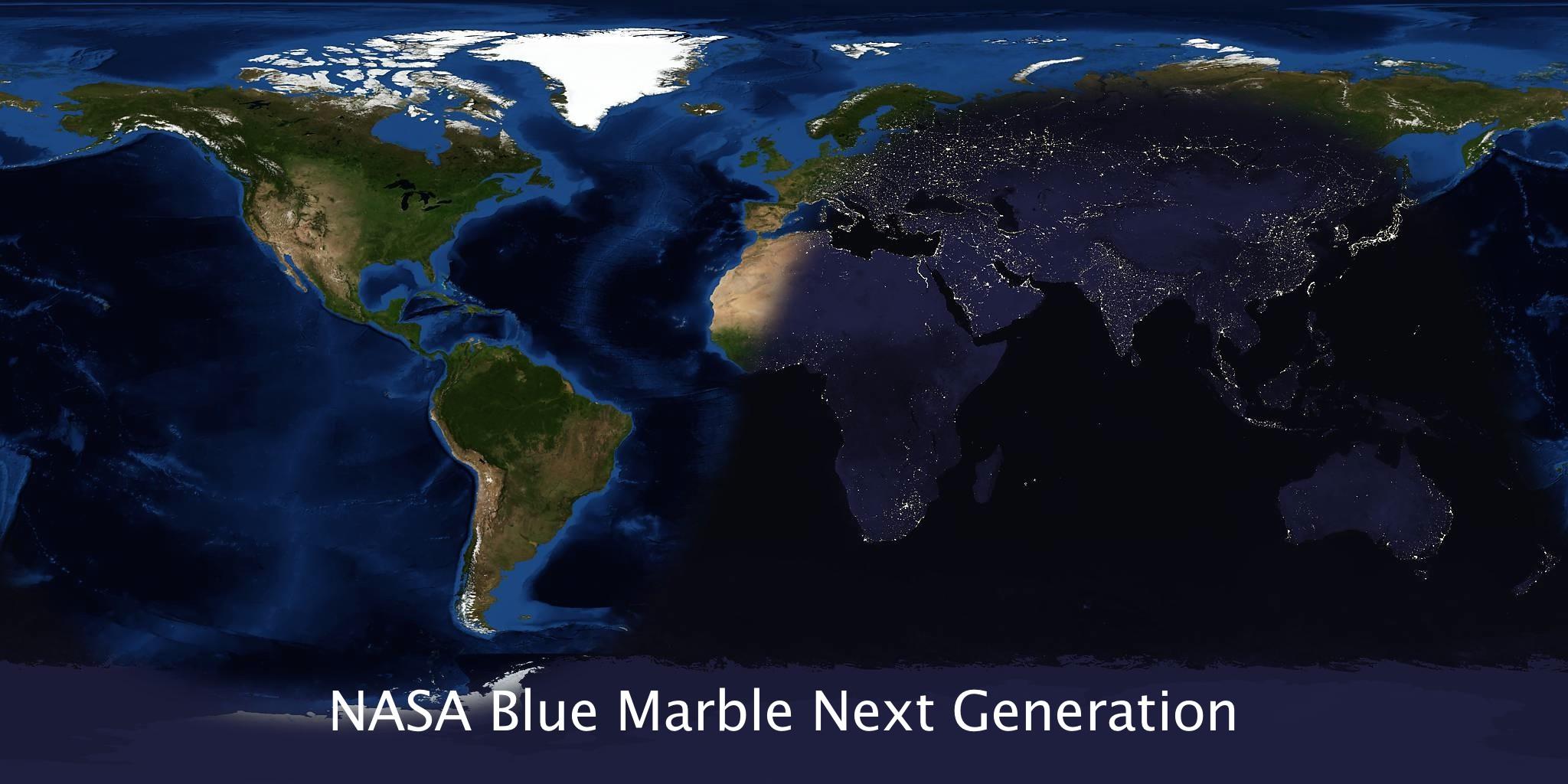 nasa blue marble 2017 - photo #28