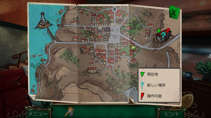 9-Clues-サーペントクリークの秘密-Map