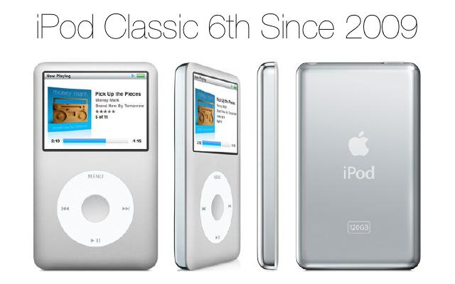 第6世代 iPod Classic